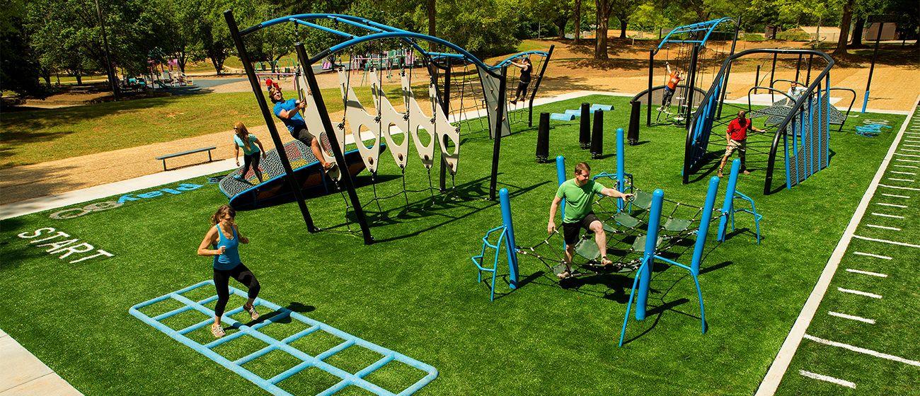 Outdoor Fitness Equipment … | backyard kids/grandkids ...