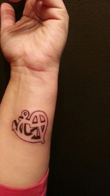 Populair Geloof, hoop en liefde.......   tattoo - Tattoos, Cute tattoos en @FR12