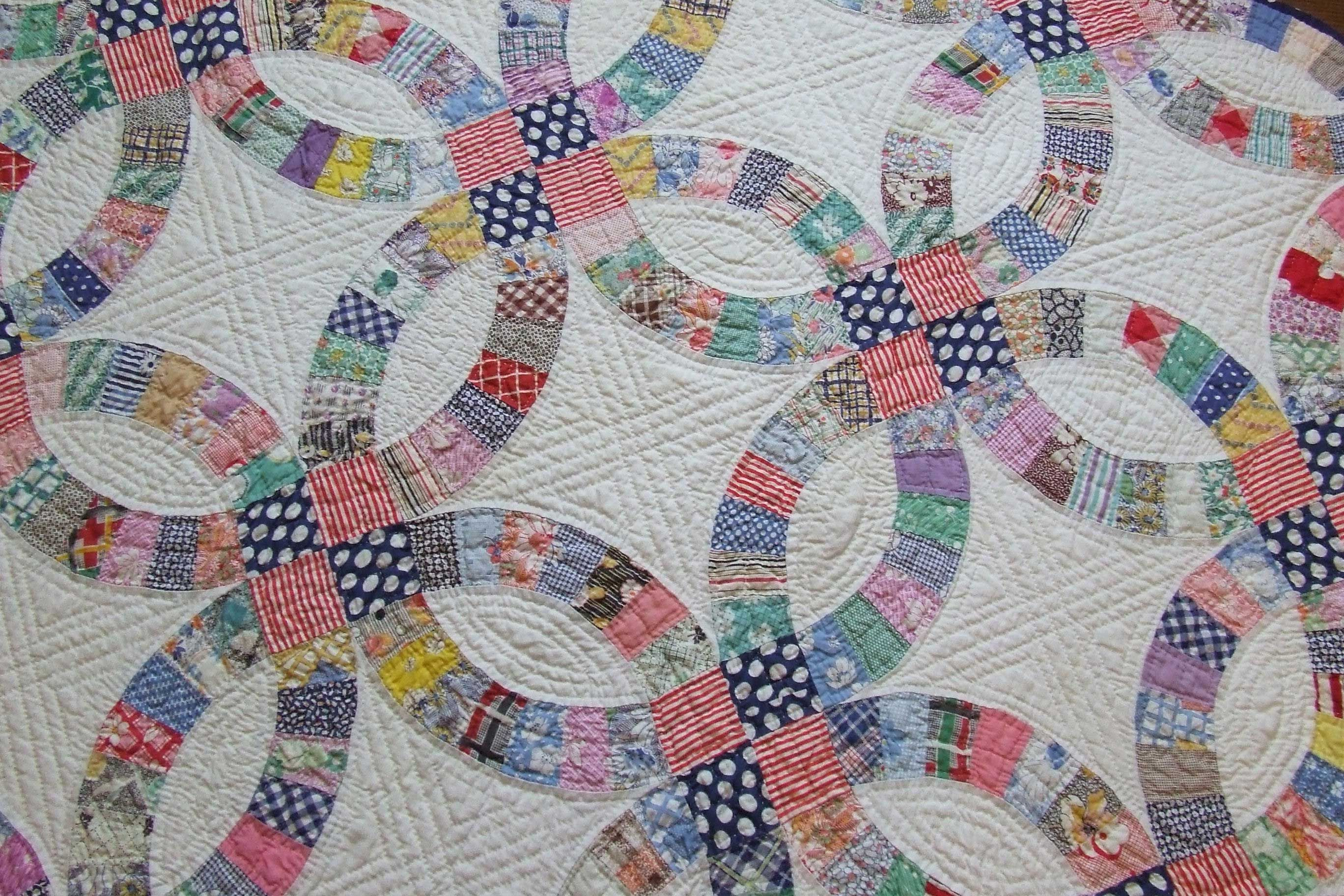 Wedding ring quilt pattern ideas 033 From 41 Beautiful