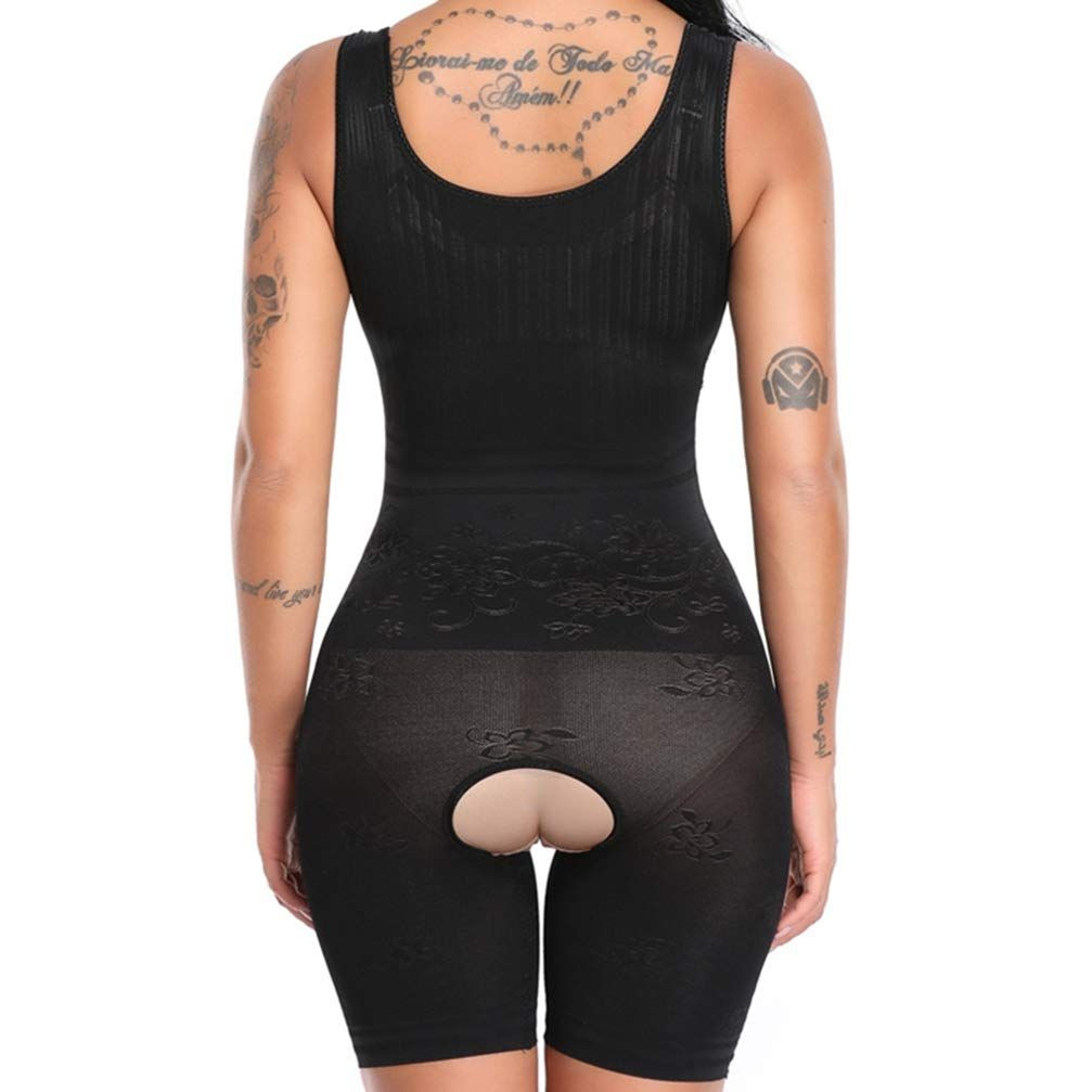 3235509a8d Fajas Reductoras Slimming Post Surgery Full Body Shaper Slip Suit Powernet Womens  Shapewear Bodysuit Waist Thigh Slim   Visit the image link more details.