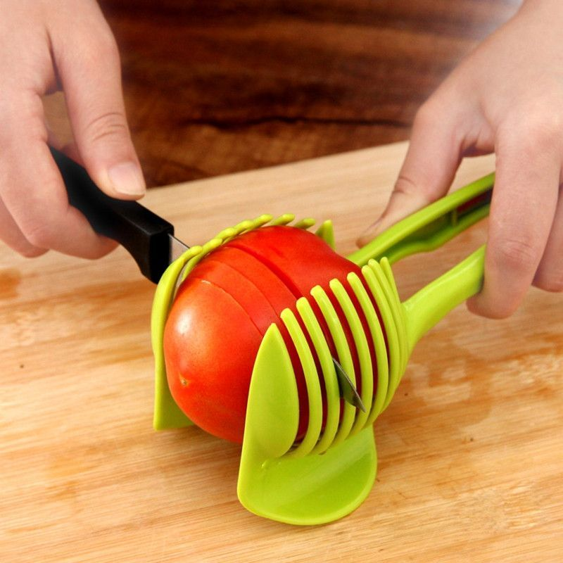 Tomato Onion Vegetables Slicer Cutting Slicing Cutter Gadget Peeler Kitchen Tool