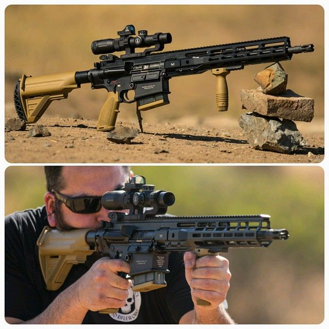 Garde-main CIM Tactical en M-LOK pour HK417.