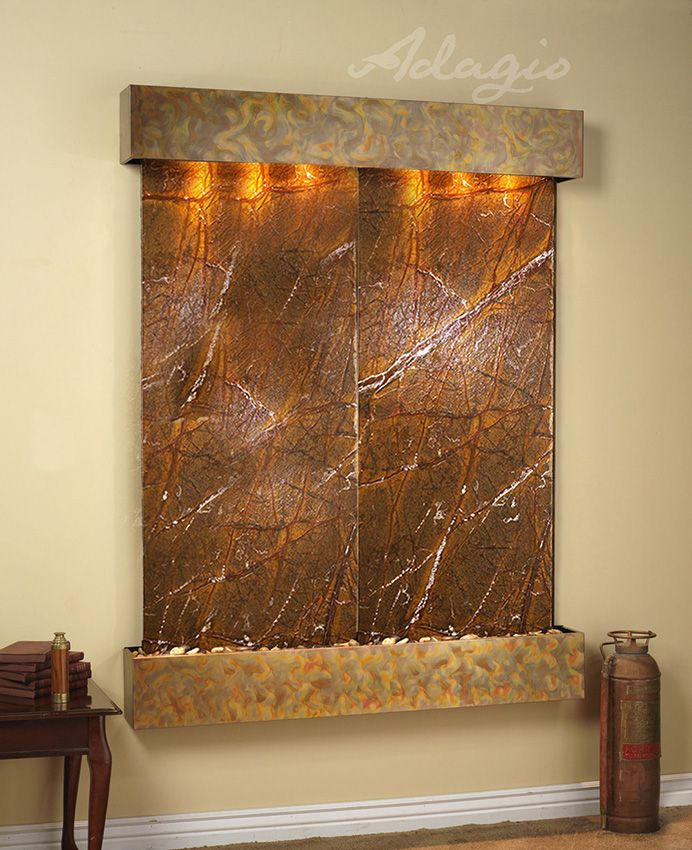 Elegant An Indoor Water Fountain For The Home And Gives Elegance. Have You Heard  Placing A