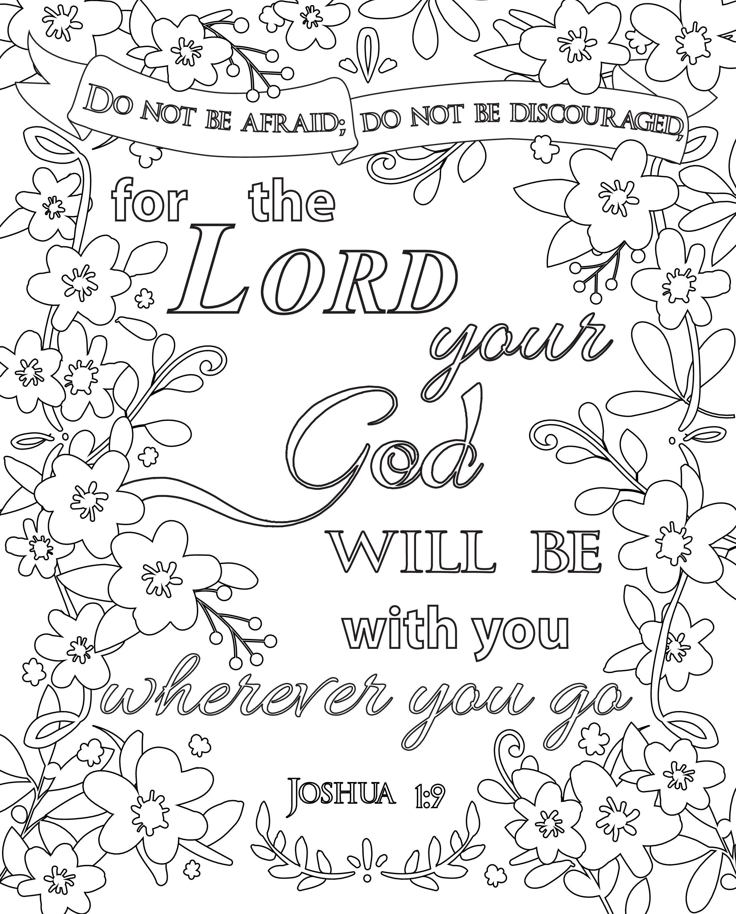 Free Christian Coloring Pages For Adults Roundup Joditt Designs Bible Coloring Pages Bible Verse Coloring Page Christian Coloring Book