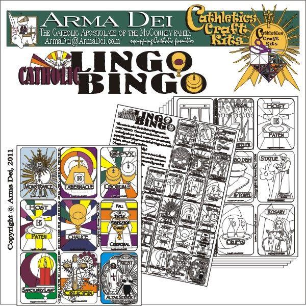 Lingo Bingo English