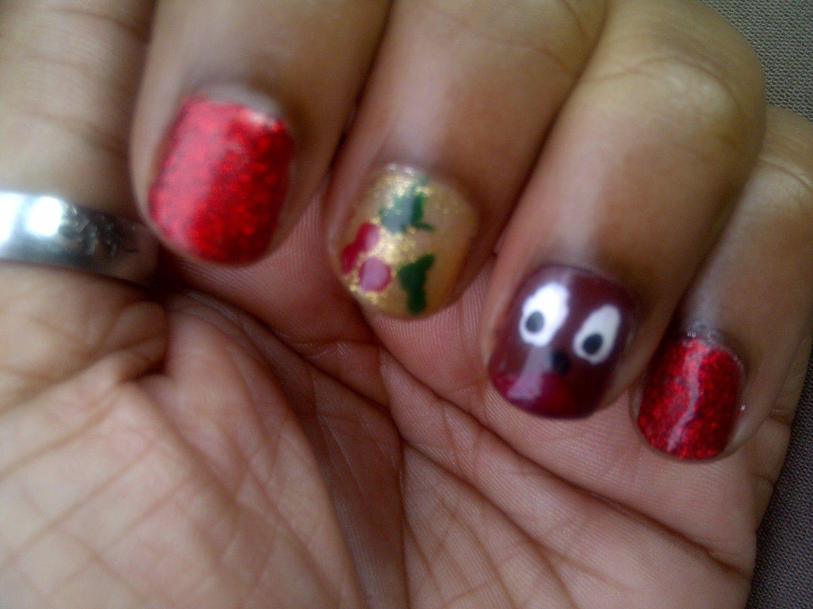 Hello Dazzling...: Nails: \