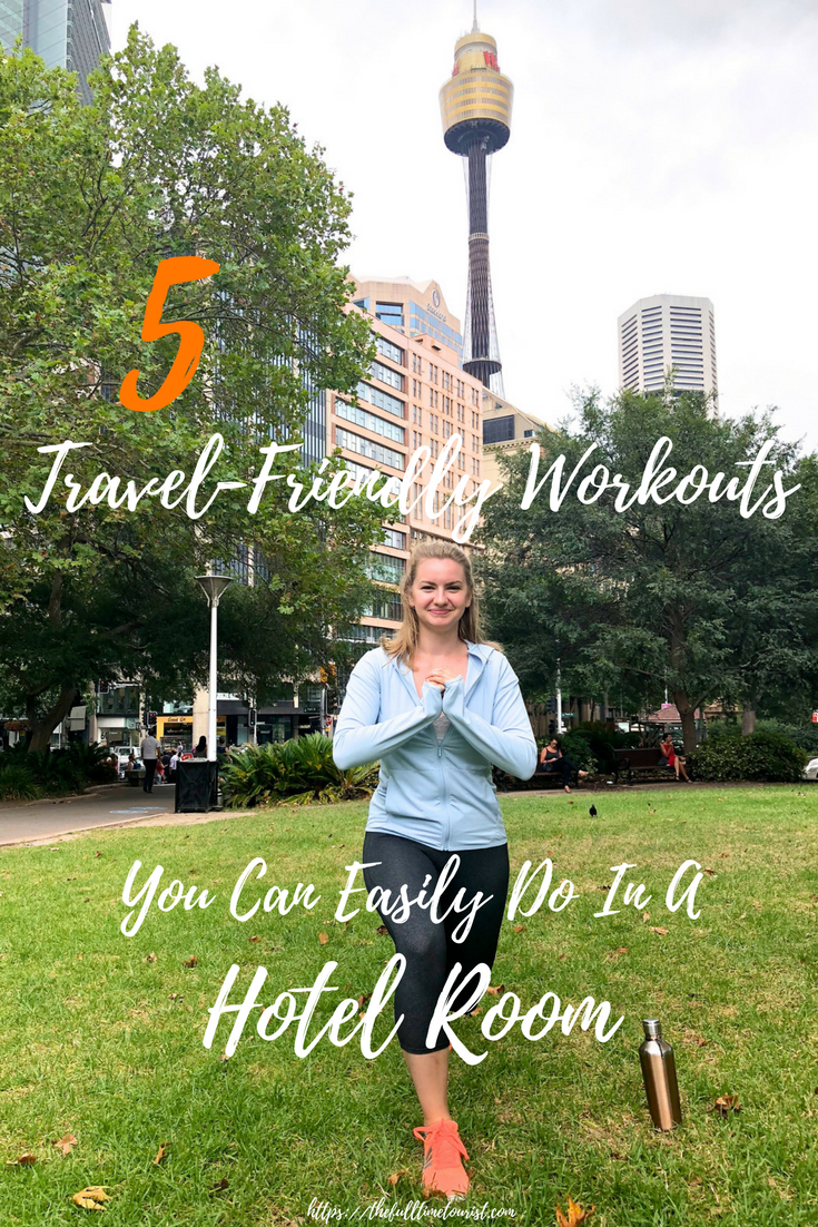 Travel and fitness don't have to be mutually exclusive things. This year I'm trying my best to incorporate more fitness into my travel life, and I thought I'd share some of my favourite YouTubers whose workouts I can do literally anywhere - including from my hotel (or AirBnB) room! Here are my 5 favourite equipment-free, travel-friendly workouts! Travel-friendly workout | Equipment-free fitness | Travel fitness | Hotel Room Workout | On-The-Go Workout | Travel fitness routine