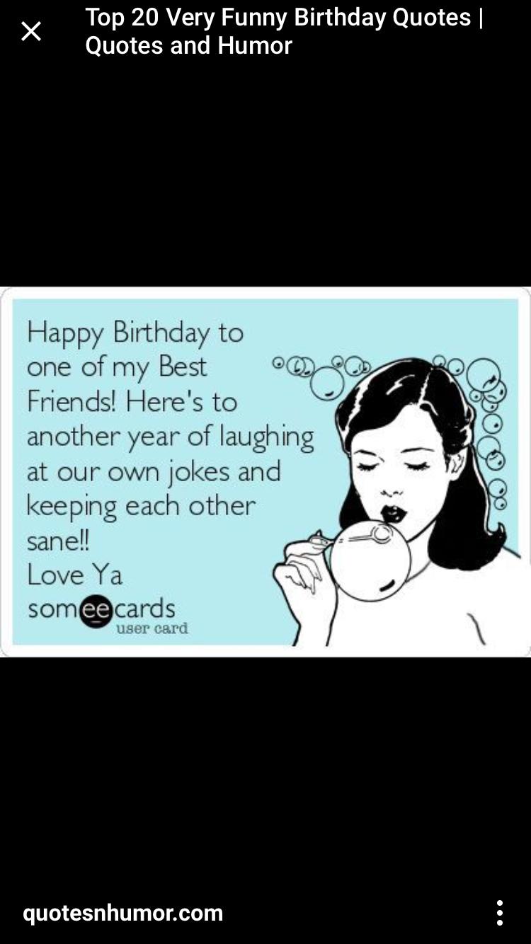 Best Friend Birthday Memes : friend, birthday, memes, Tammy, Brown, Birthday, Happy, Quotes, Friends,, Friend
