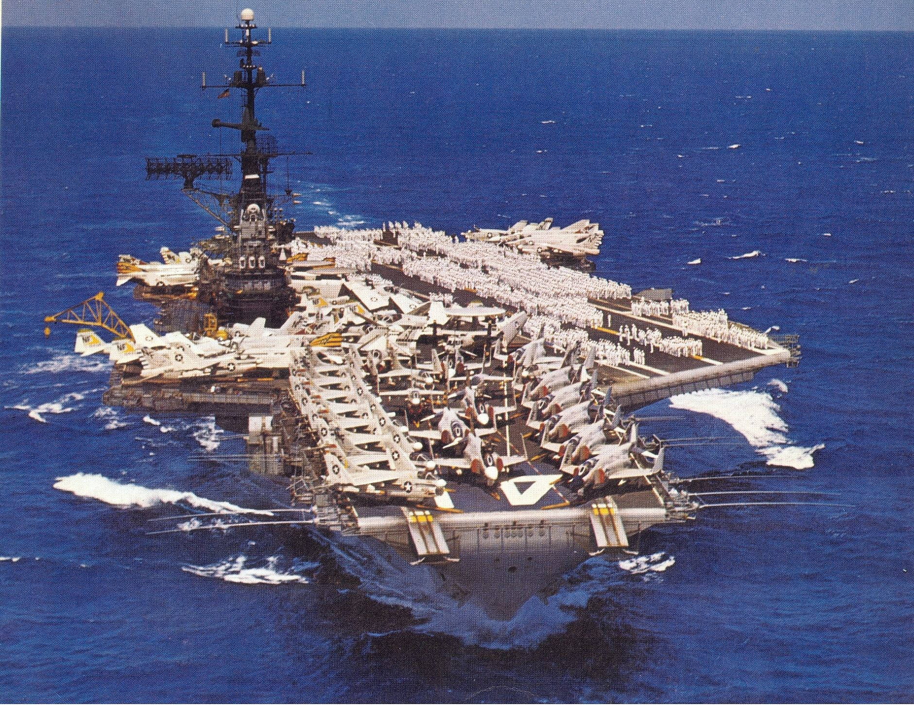 US Aircraft Carrier VIETNAM | How would you describe life on the