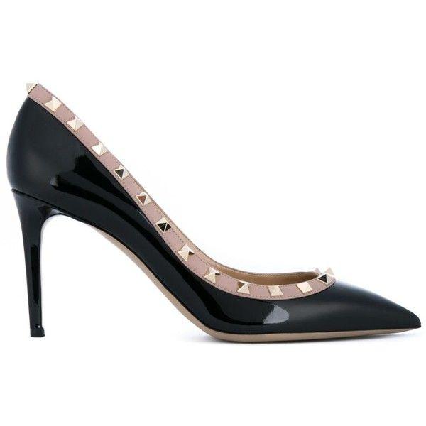 ceb39df790eb Valentino Garavani  Rockstud  pumps (€790) ❤ liked on Polyvore featuring  shoes