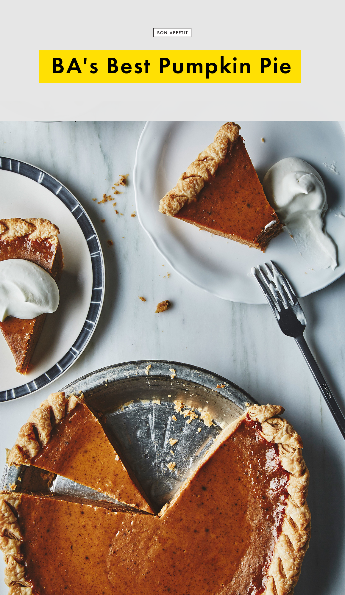 BA\'s Best Pumpkin Pie | Recipe | Bon appetit, Pie recipes and ...