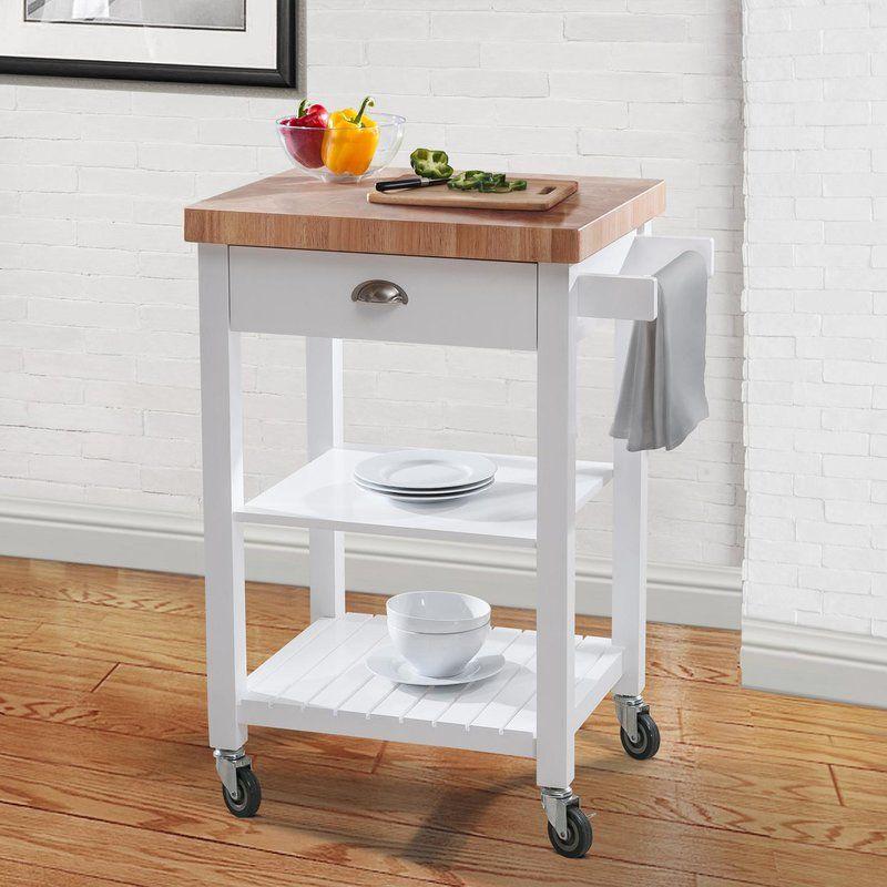 Haller Kitchen Cart In 2019 Carts On Wheels