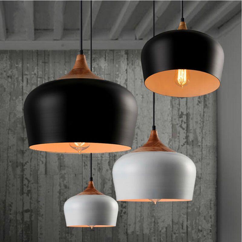 Européenne créative minimaliste bar restaurant lumières IKEA 36 cm ...