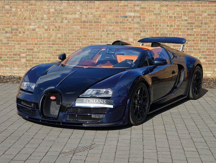 Blue Carbon Bugatti Veyron Gs Vitesse For Sale At 2 395 000