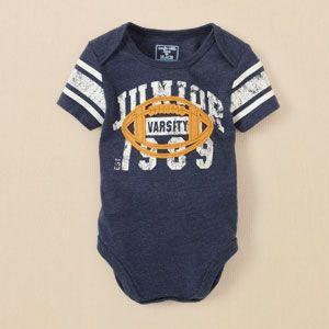 Fashion Retro Style Paddleboard Silhouette Sleepwear Long Sleeve Cotton Bodysuit for Unisex Baby Baby Boys