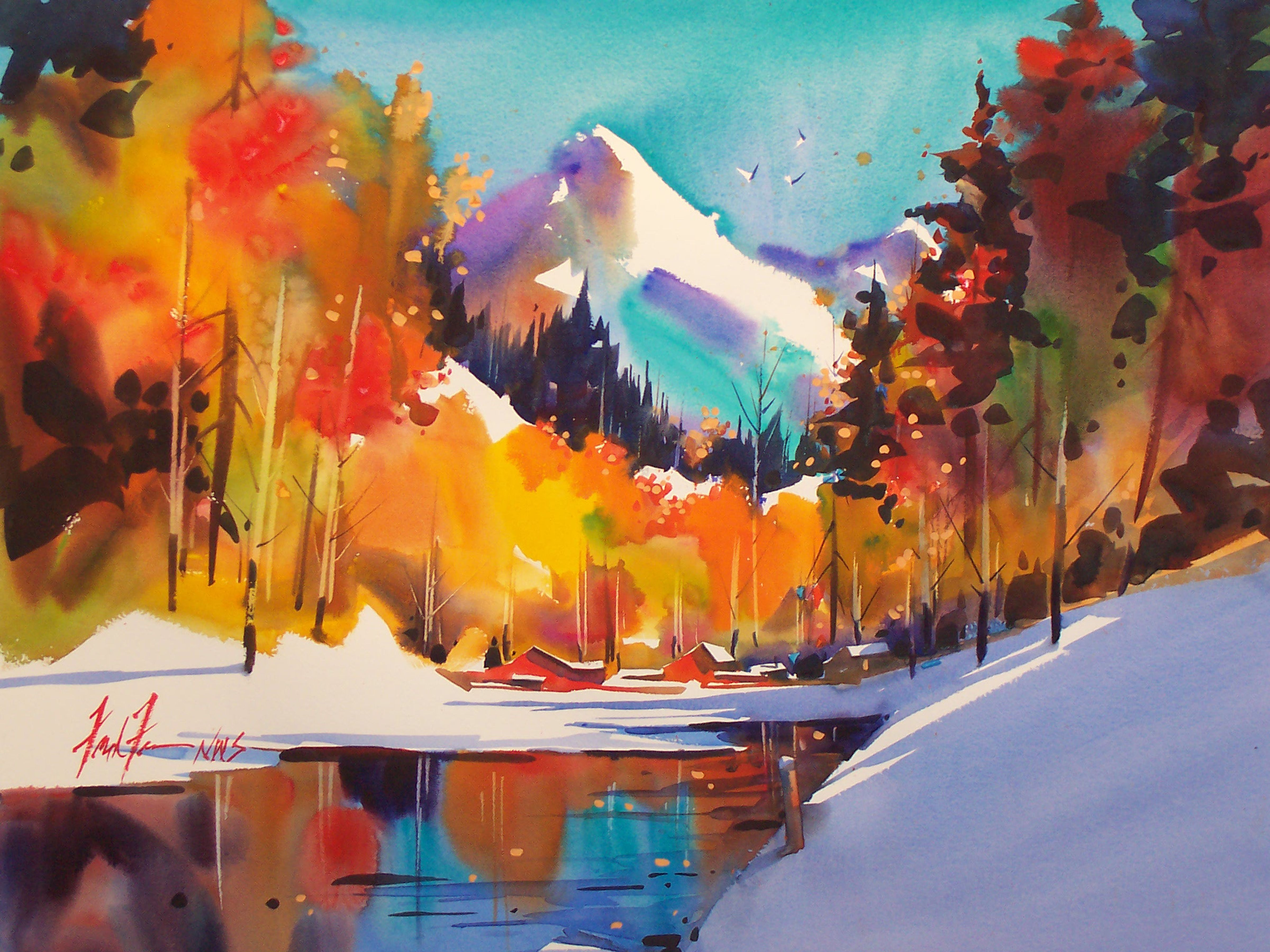 Watercolor artist magazine customer service - Powerful Color In This Frank Francese One Of My Fav Wc Painters