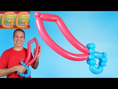 como hacer espadas con globos globoflexia y figuras con globos