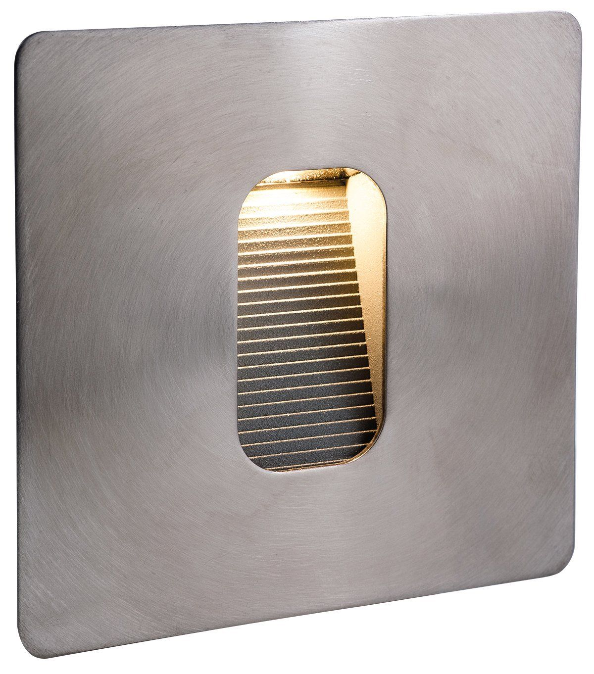 Firstlight 3420st 3w led wall and step light stainless steel buy firstlight square outdoor recessed step wall light in stainless steel find outdoor step wall lights at arrow electrical aloadofball Choice Image