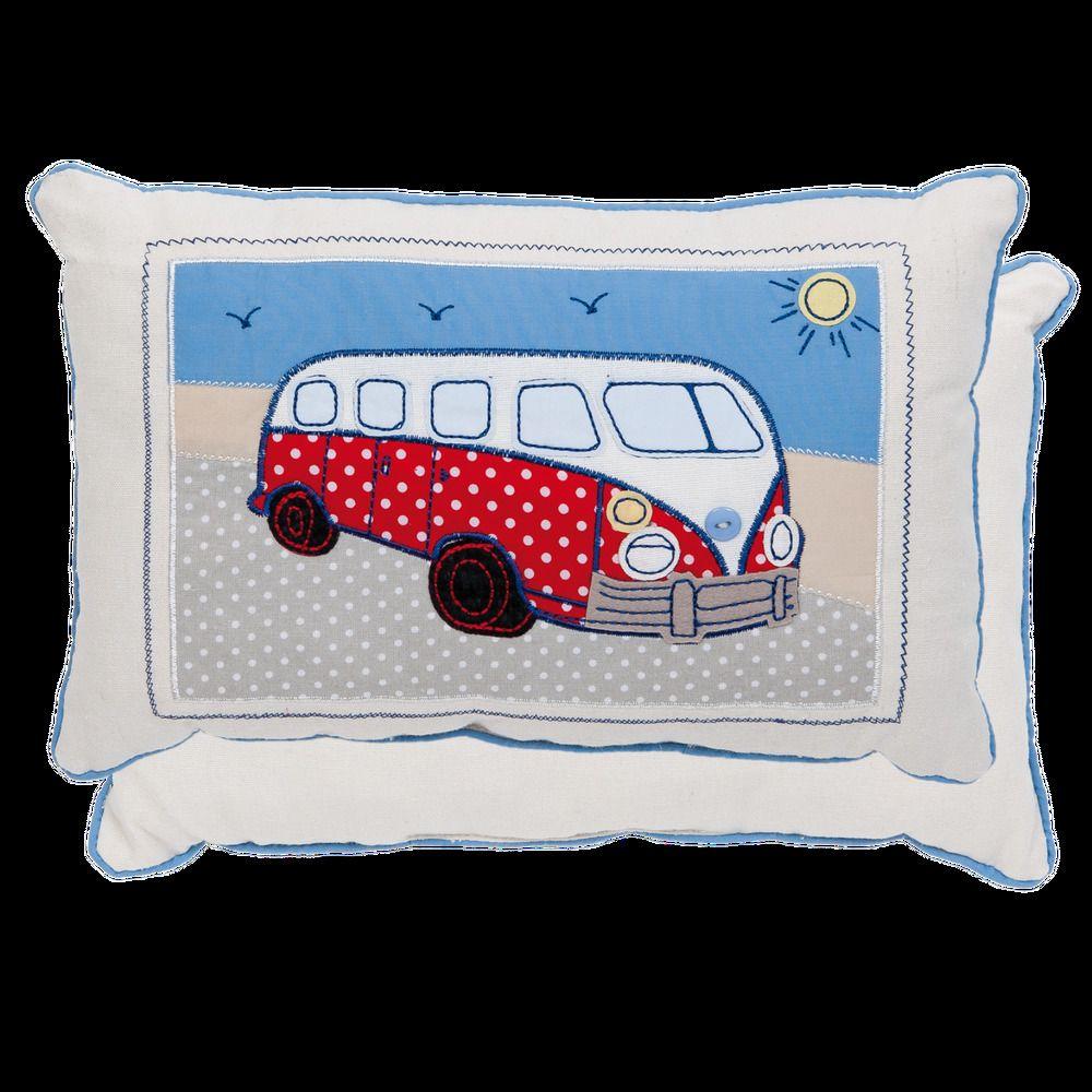 deko kissen kinderzimmer bus bully dekokissen ganz niedlich f r kleine und gro e bully fans der. Black Bedroom Furniture Sets. Home Design Ideas