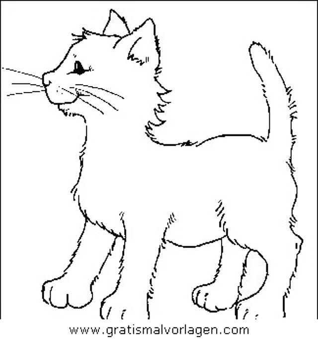 gratis malvorlage katzen 23 in katzen tiere zum