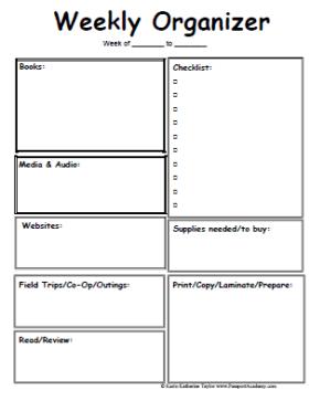Free Printable Planners Calendars Organizers Homeschool Lesson Planner Kindergarten Lesson Plans Template Preschool Lesson Plan Template