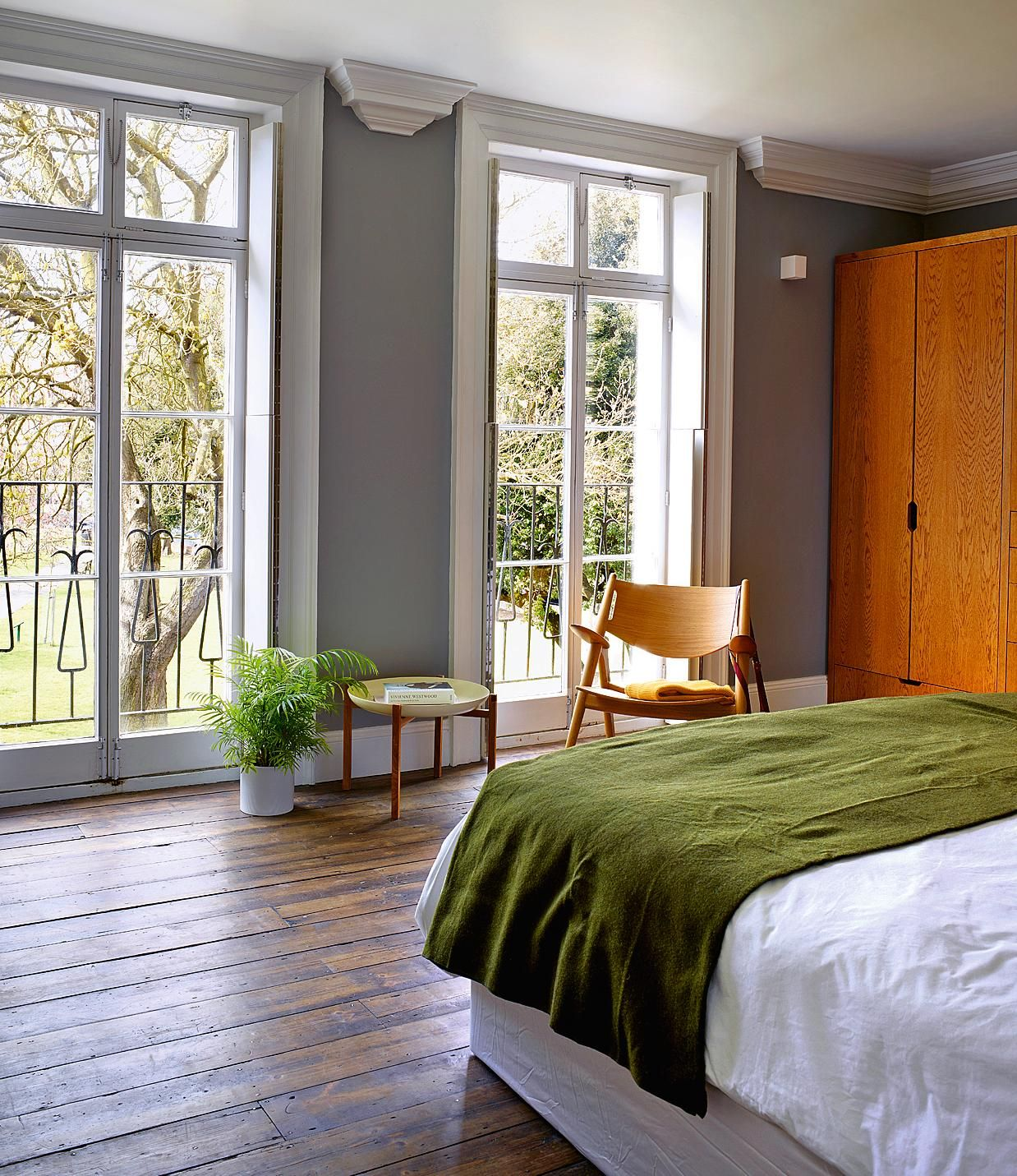 Bed beside window ideas  homes swapping the city for the seaside  my castle  pinterest
