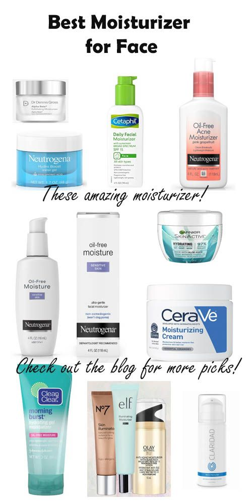Best Moisturizers to Help Every Skin Type for Clear Skin 2019 -   16 skin care Face moisturizer ideas
