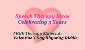 Valentine's Day Rhyming Riddles