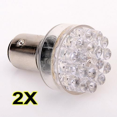 12v Bay15d 24 White Led Super Bright White Light Provide Longest Life Time Easy To Install Plug And Play Can Be Used As Cor Led Lights White Lead Lights