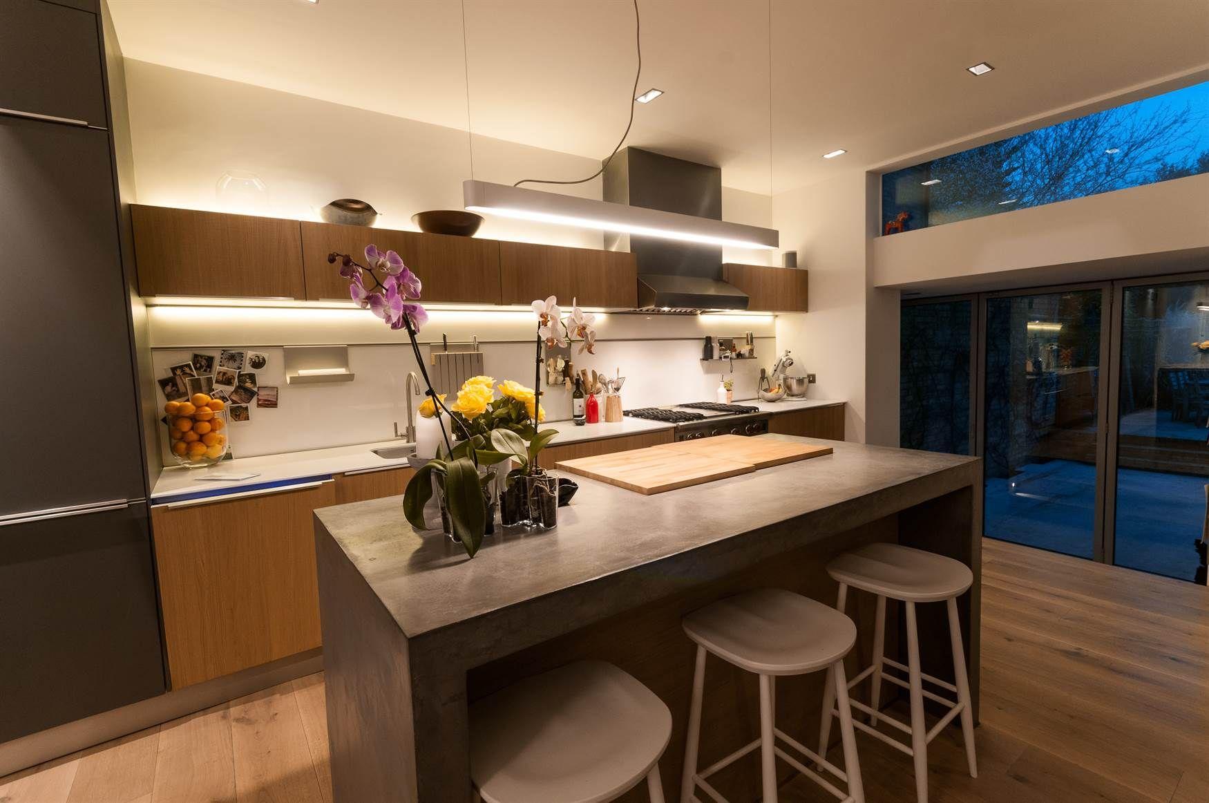 Kitchen Lighting Design Mr Resistor LED tape above and under