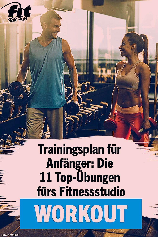 Photo of Trainingsplan fürs Fitnessstudio: 11 effektive Übungen