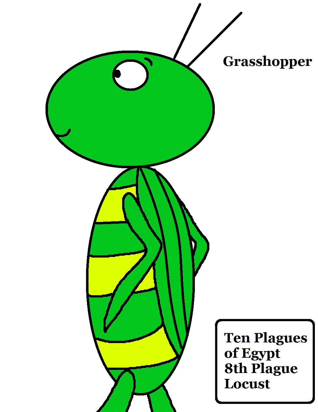 Grasshopper Dead Grasshopper Coloring Page Coloring Pages