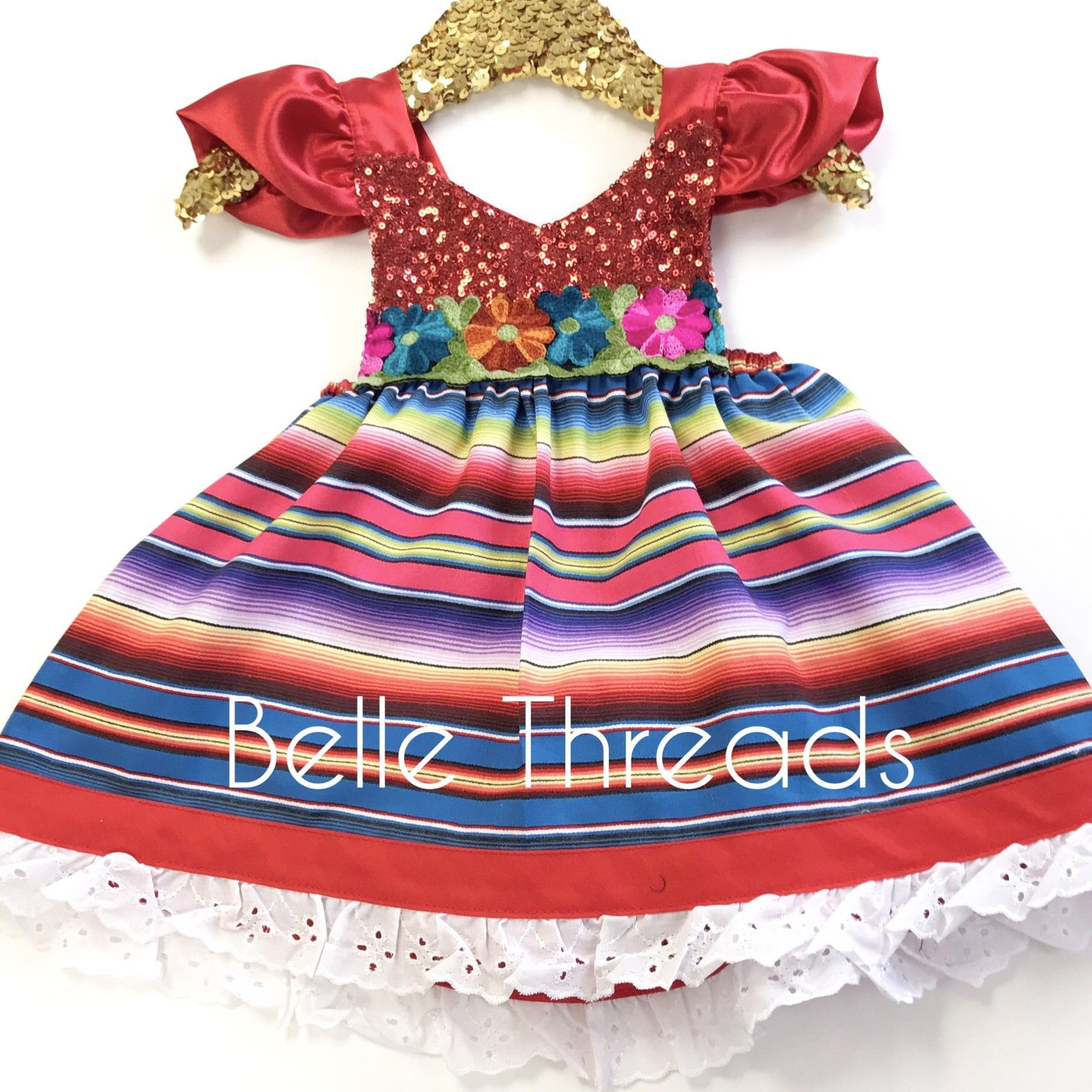 7cc381b1fa5c LIMITED Viva La Fiesta Sparkle Romper Cinco de Mayo Fiesta Dress ...