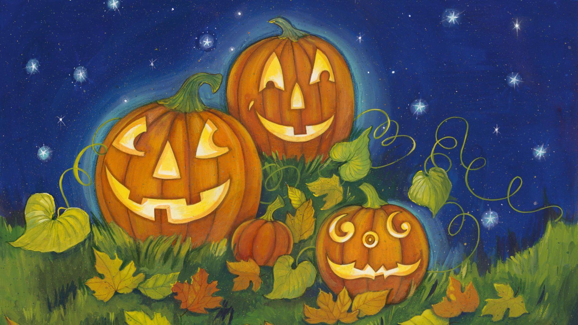 Happy Jack O Lantern Wallsfield Com Free Hd Wallpapers Jack O Lantern Halloween Jack O Lanterns Cute Pokemon Wallpaper