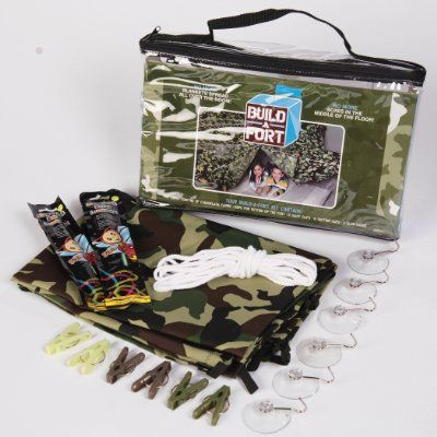Be Amazing! Toys Build - A - fort Green Camo Tent:Amazon:Toys & Games