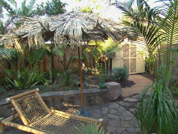 backyard tiki hut ideas - yahoo