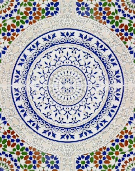 Muster aus Tunesien - Fliesen | Fliesenmuster | Pinterest | Tunesien ...