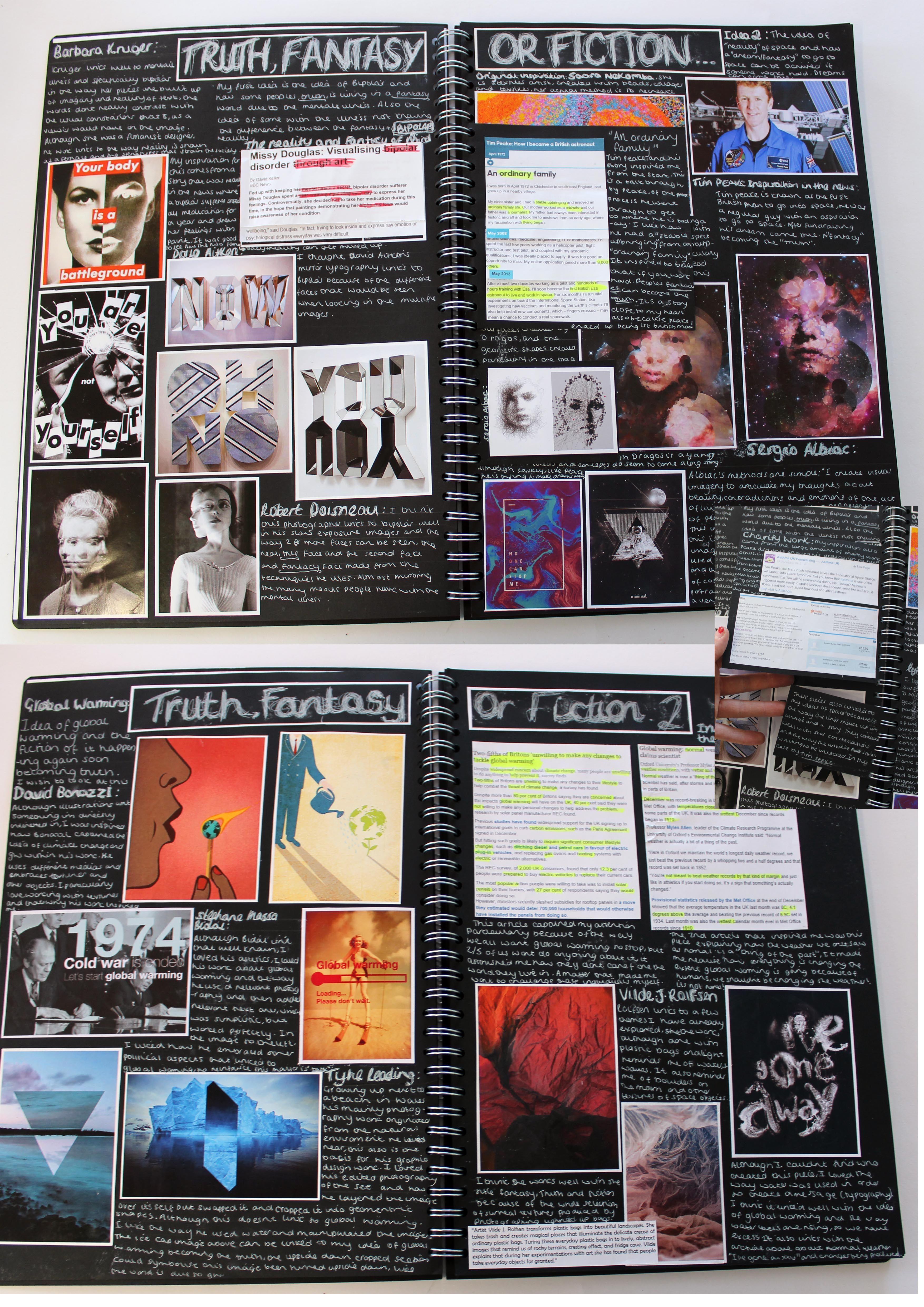 al a2 graphics graphic communication  a3 black sketchbook