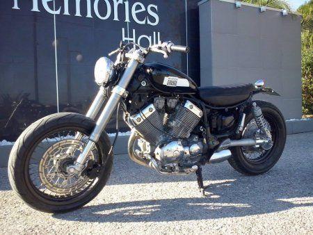 Dinostyle Garage Yamaha Xv 535 Brat Style Motorrad