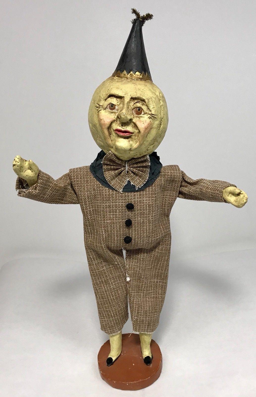 esc trading co 2002 moon head man halloween decor statuev