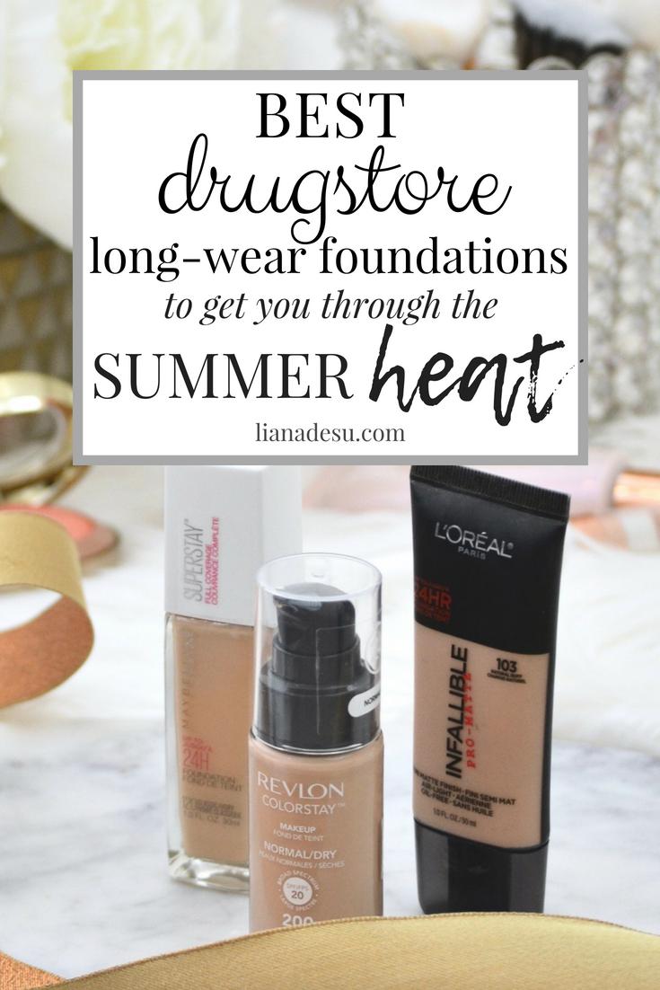Best SweatProof LongLasting Drugstore Foundations for