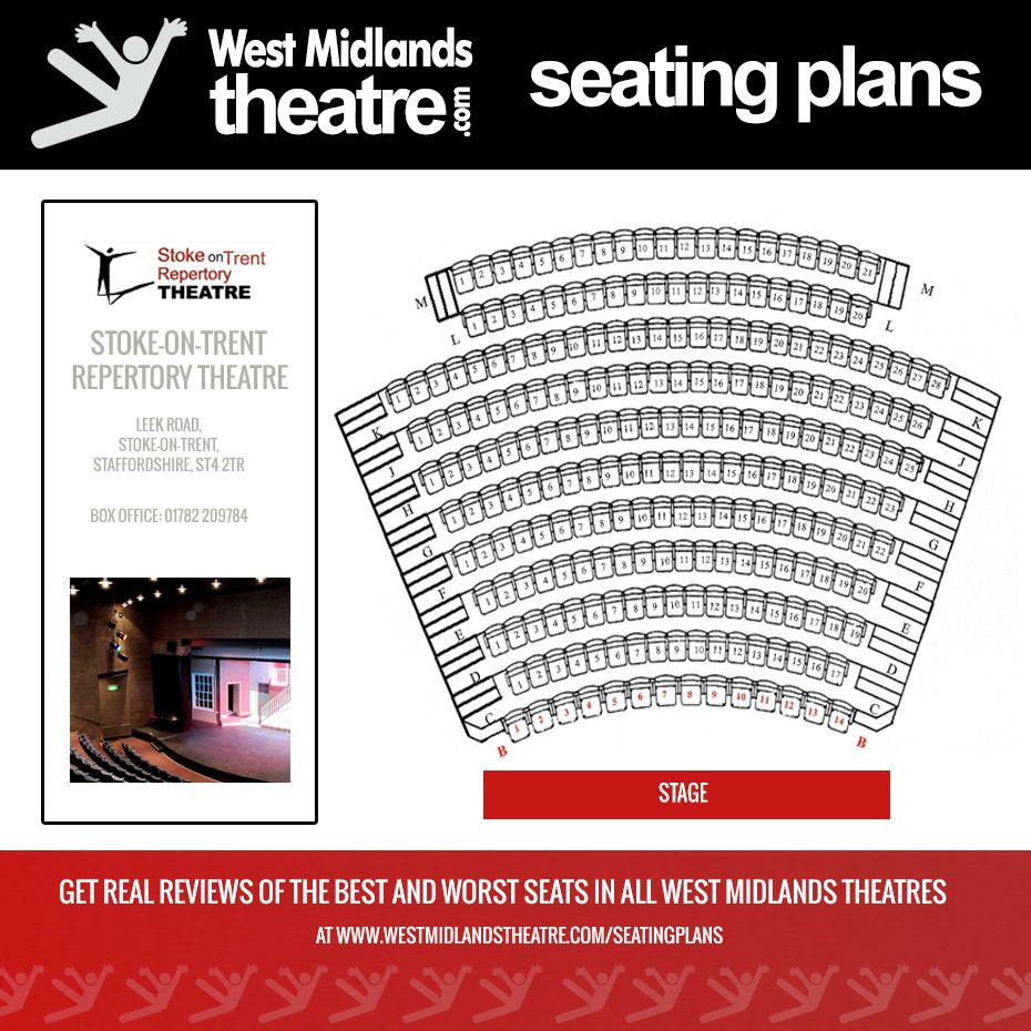 Pin On Seating Plans West Midlands Theatres