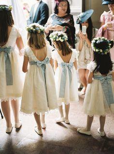 Diário de Noiva: as daminhas – Constance Zahn | Casamentos