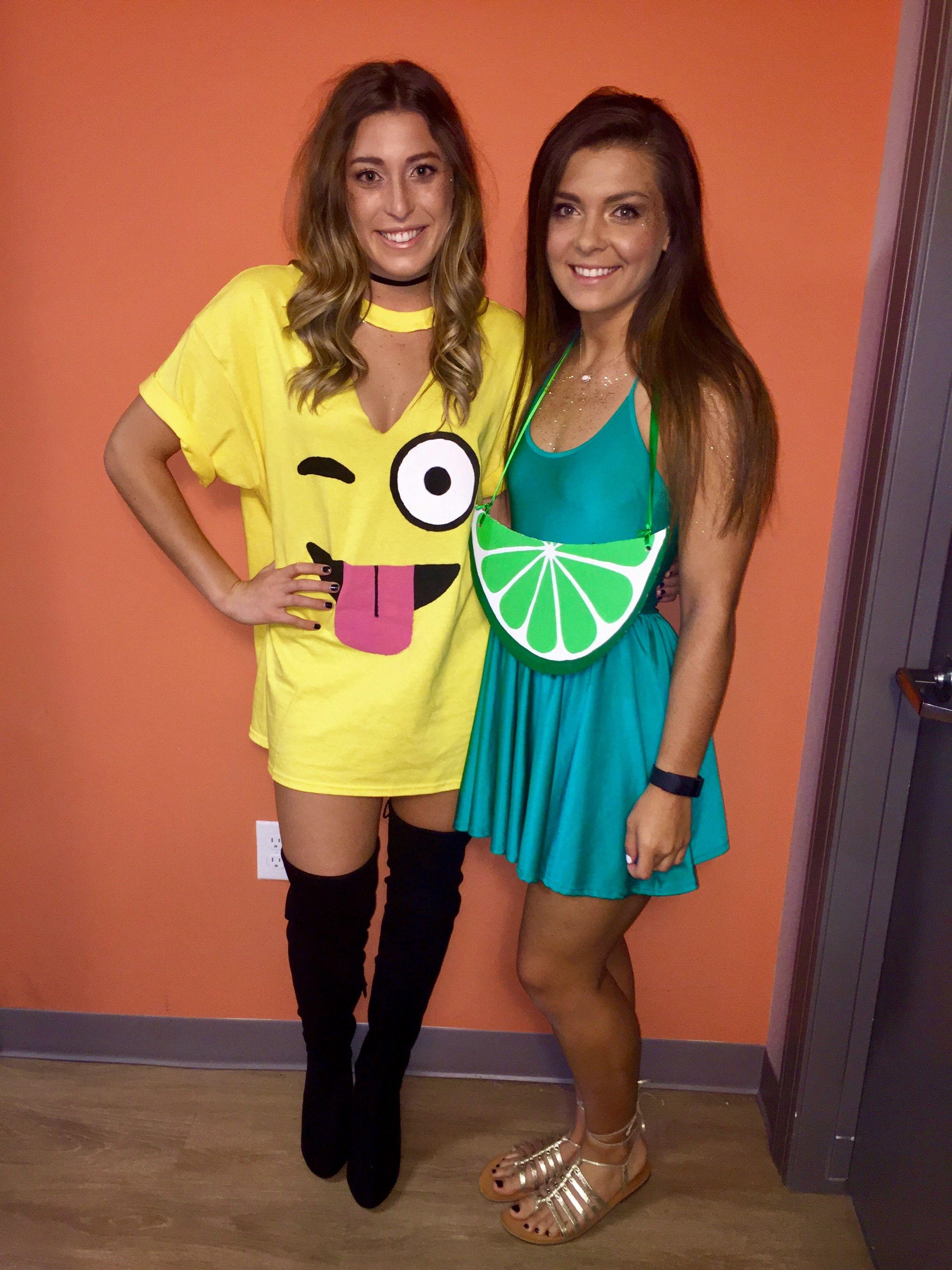 Lime and emoji Halloween costume Halloween costumes