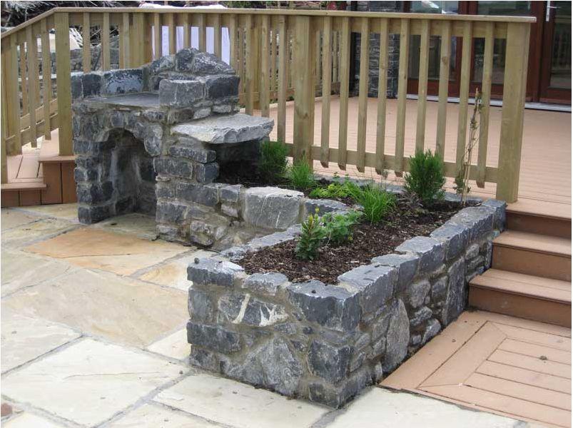 nice outdoor kitchen with built in herb garden from stoneartireland herb garden herb garden on outdoor kitchen herb garden id=46166