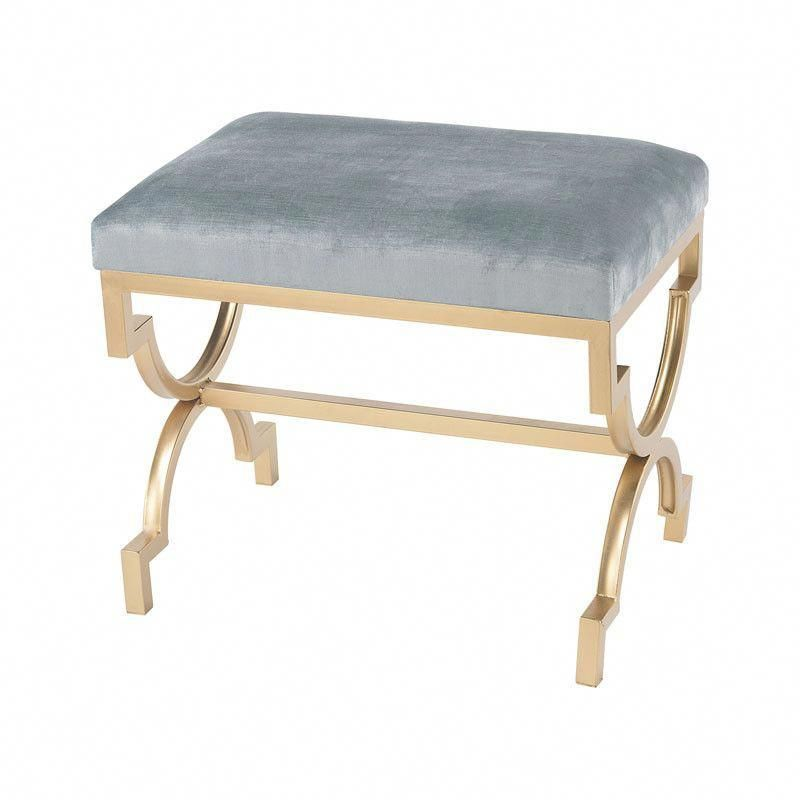 Frenchinterior Design Ideas: This Bench Is Finished In Gold Leaf With A Duck Egg Blue