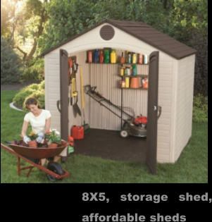 Storage Shed, Affordable Sheds, FREE Shipping. From Los Angeles, CA To New