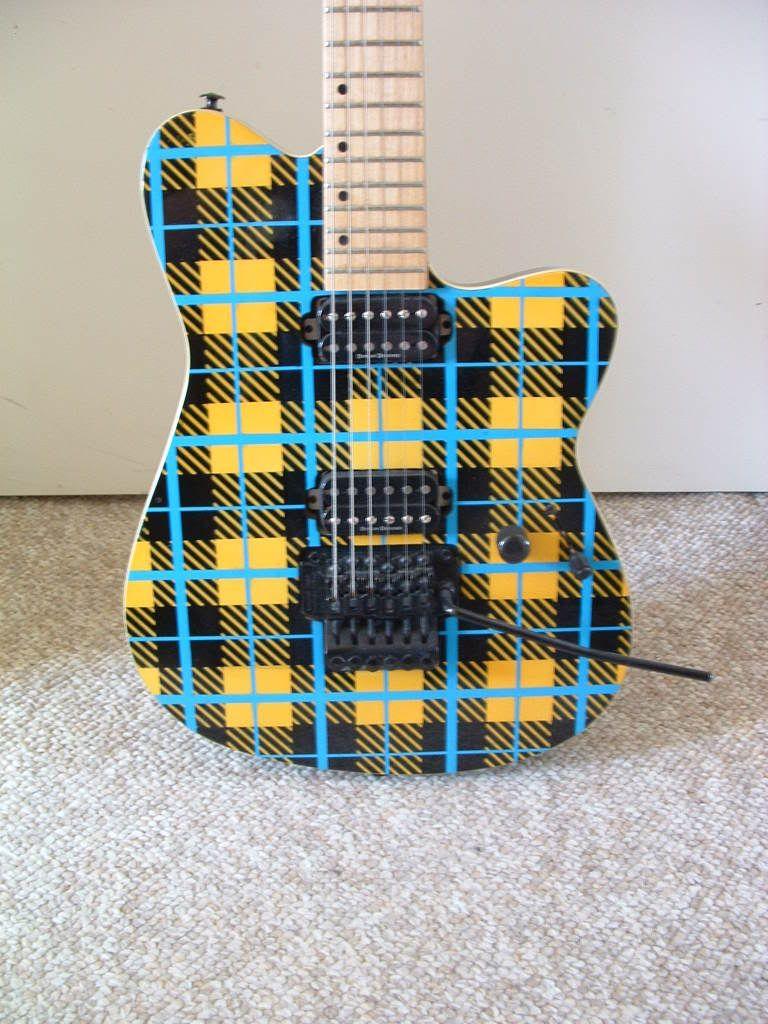 Fs Yamaha Plaid Blues Saraceno Harmony Central Guitar Art Wiring Help Dimarzio Super Distortion