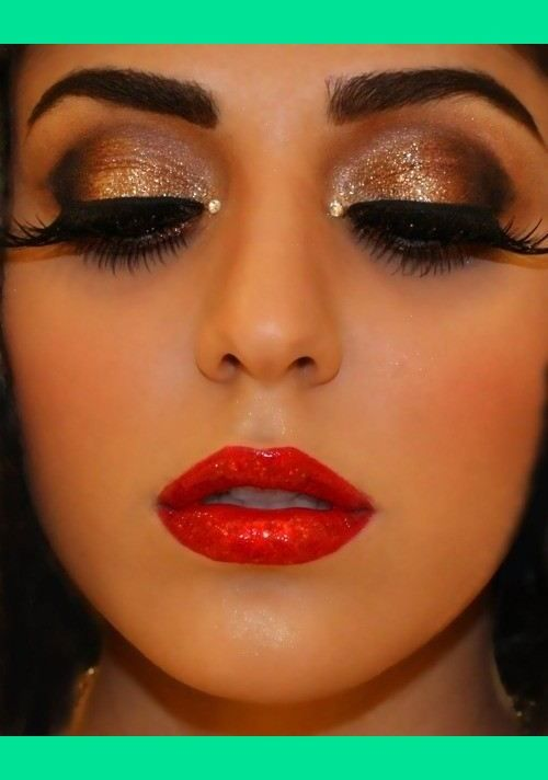 1920s inspired look (With images) | Dramatic makeup, Eye ...