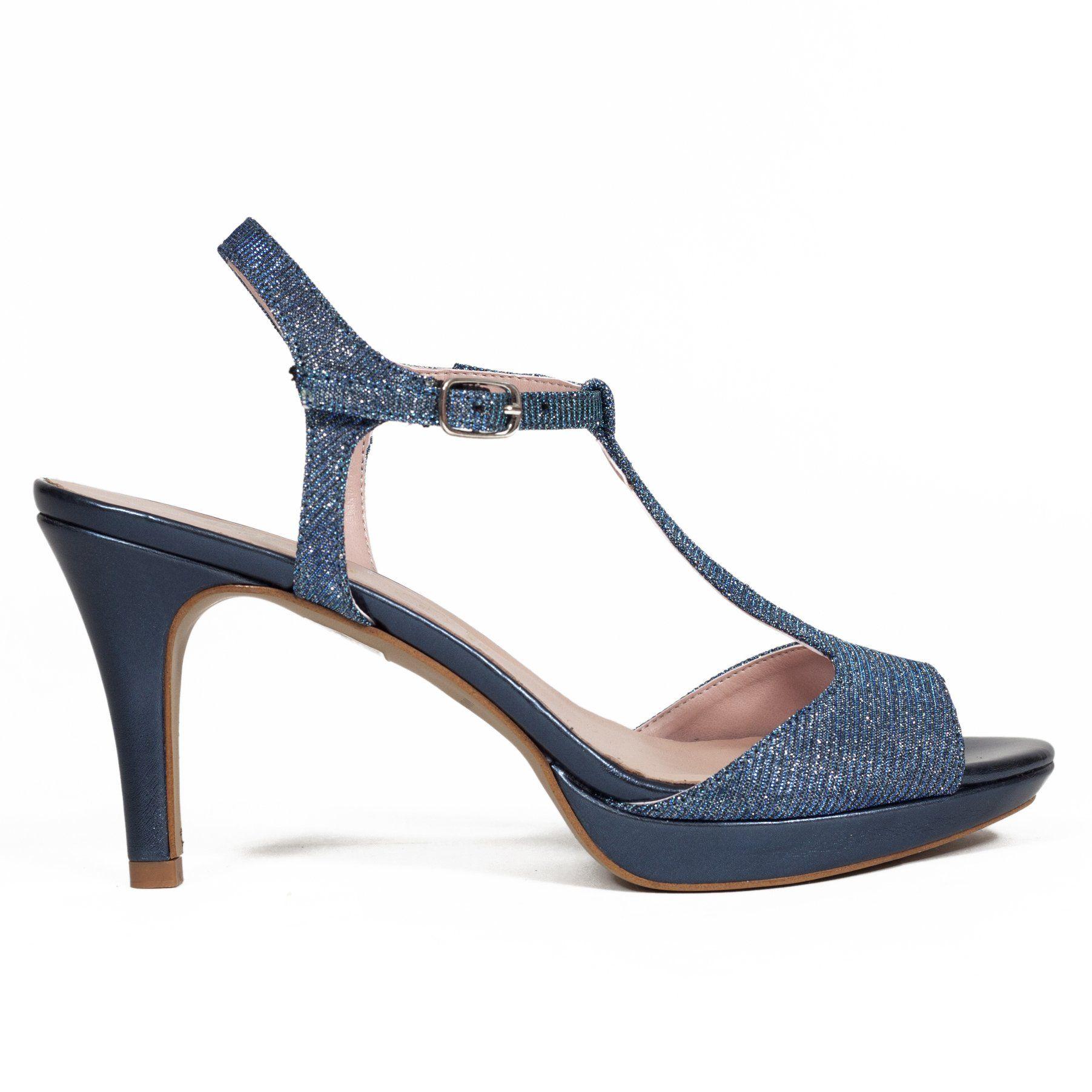 50e5957f Sandalia Fiesta DIAMANT Azul | shoes and boots | Zapatos de fiesta ...